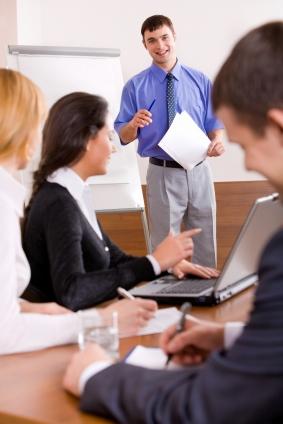 Give presentations